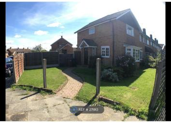 Property Reference: 271913. Beautifully presented end of terrace two bedroom house, which benefits from off street parking a large garden and both a built in and walk in wardrobe in the main bedroom. This property will be let unfurnished and will be ...