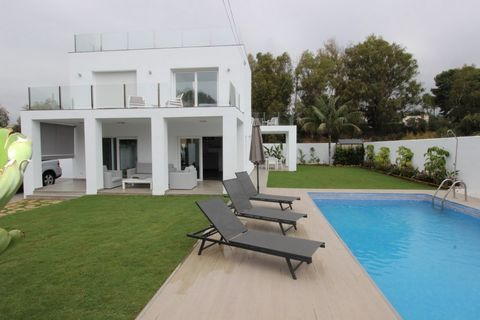 OUR EXCLUSIVE LISTING! AMAZING NEW PROPERTY BEACHSIDE NEAR BANUS !!!, this is a completely renovated villa up to the highest materials and with a nice plot and pool. The renovation has been completed in 2017. It is a rare opportunity to buy a beachsi...