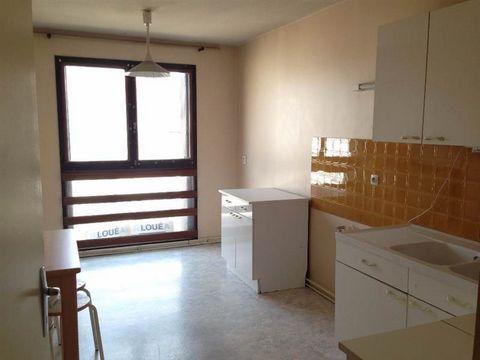 Appartement T2 en résidence sécurisé, Composé d'une entrée, un séjour, une chambre, une cuisine aménagée, un WC. Résidence avec ascenseur . Loyer ttc :430 euros Honoraires Agence : 337.50 euros dont 100 euros pour l'état des lieux