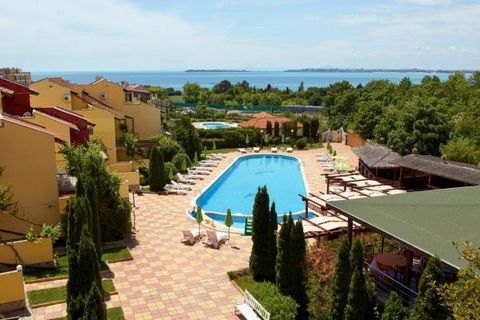 This is a lovely fully furnished one bedroom apartment located in a small family complex near a picturesque beach and nature park in the outskirts of Saint Vlas. The total size of the apartment is 49 sq.m., it is situated on the ground floor, compris...
