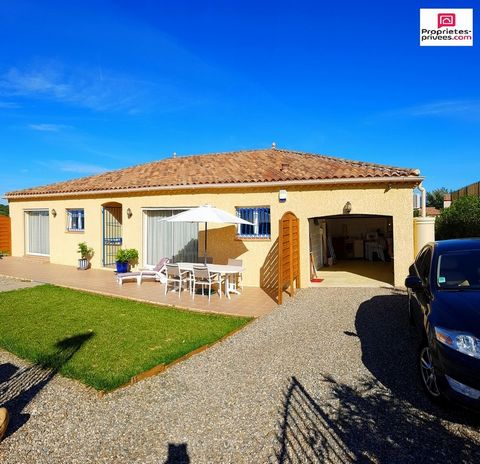 MAGALAS Centre village, Villa 6 Room (s) 154 m², Land 771 m², 4 Bedrooms, Fitted kitchen