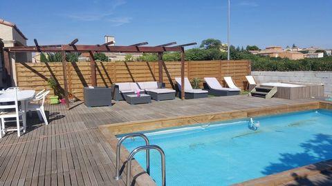 ALIGNAN DU VENT Centre ville, Villa 4 Room (s) 81 m², Land 405 m², 3 Bedrooms, Fitted kitchen