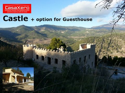 Castle ! Beautiful & Stylish renovated Spanish Castle www.CasaXero.com thé local agent in Relleu presents proudly this Spanish Castle which was build in 1900 and with great attention for original details completely restored in 2000. Direct from the o...