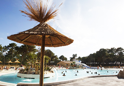 Atlantic Club Montalivet Camping is located in Vendays Montalivet, in Gironde, on the Silver Coast. The comfortable and well equipped mobile homes are located in the heart of a pine forest and offer direct access to the sandy beach. For lovers of wel...