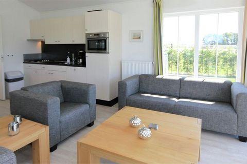 Sur les rives du lac de Veere sont disposés ces cottages confortables et indépendants. Ces logements existent en quatre variantes pour 4 personnes. Le cottage Comfort (NL-4341-06) est le plus sobre , mais possède un intérieur contemporain et est pour...