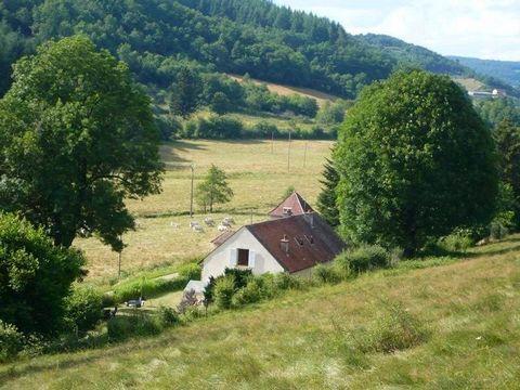 Exclusivité: Bourgogne, au coeur du Parc du Morvan, Propriété de caractère comprenant une maison principale de 180 m² environ et dépendances située en pleine campagne. Proche d'un village avec commerces, à 20 minutes d'Autun, 20 minutes de Saulieu et...