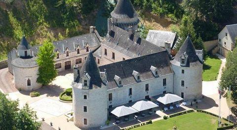 Ce Château Hôtel 3 Etoiles cultive un certain art de vivre et de recevoir dans un véritable Château du 12ème et 15ème siècle en plein c½ur du Périgord noir (Dordogne). Un havre de paix dans un domaine d'environ 19 ha, à proximité des communications a...