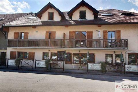 e-NOVIMO le spécialiste de la vente de particulier à particulier vous propose sur la commune de Montagny- les- Lanches à 8 kms d'Annecy et 25 kms d'Aix- les- Bains, un très beau fonds de commerce de restaurant (parts de S.A.R.L) situé à la sortie de ...