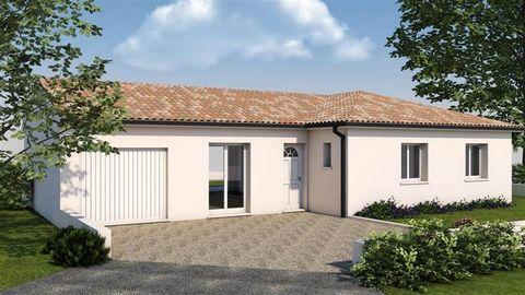 A 25 km au Sud de Toulouse,dans un environnement champêtre, au c½ur d'un petit village, venez découvrir ce nouveau lotissement. Terrain de 459 m², entièrement viabilisé au prix de 75 900 €.Maison de 100 m² se compose d'une grande pièce de vie de 40 m...