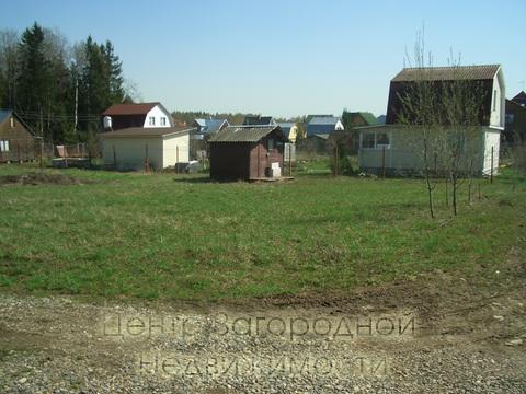 Волоколамское (Новорижское) шоссе, 25 км от МКАД. Надовражино. Участок 8 соток в СНТ