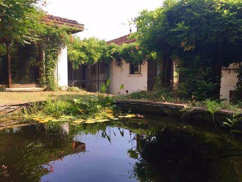 Castelmoron sur Lot, à l'orée du village, dans un quartier calme, cette maison vous surprendra par son jardin bucolique (1820 m2) et retiré à deux minutes des commodités et des écoles. La maison, bâtie dans les années 50 et agrandie dans les années 9...