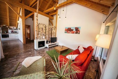 An absolutely top quality new (2011) appartment in a cluster of just 6 houses at the foot of the Petzen mountain, marking the border between Slovenia and Carinthia. In the basement there is the shared wellness area, with sauna and scenic relaxing are...