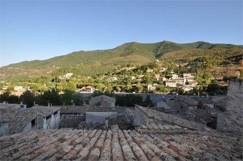 ENTREVAUX, à seulement 70 Kilomètres de Nice, au c½ur de la citadelle. Maison de village à rénover entièrement. Sur 4 niveaux elle offre la possibilité de créer 4 appartements de 42 m² chacun, une maison de familiale où encore un gîte. Les fenêtres e...